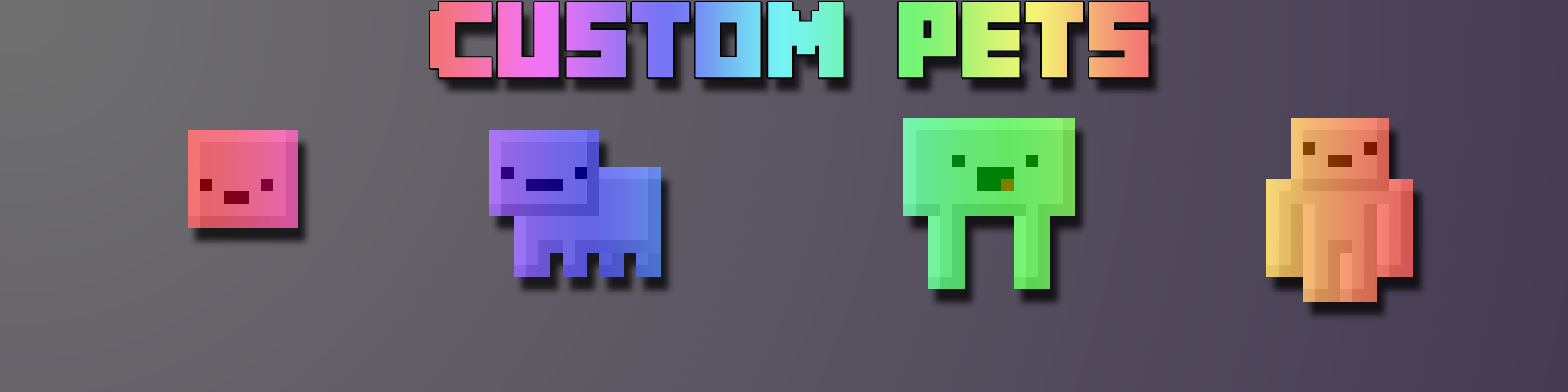 Custom Pets Make Your Own Custom Inventory Pets Dynamic Ingame - Curse minecraft server erstellen