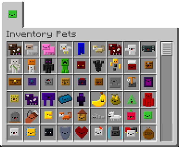 Inventory Pets: Animated creatures that live in your inventory