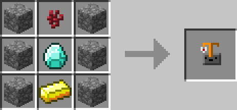 Brewing Stand Minecraft Crafting Recipe